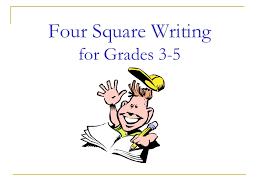 four square writing for grades 3 5