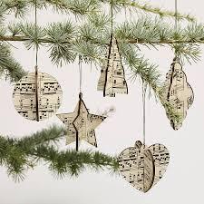christmas tree music notes christmas lights decoration