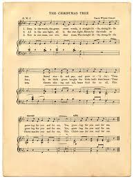 vintage christmas sheet music printable sheet music vintage