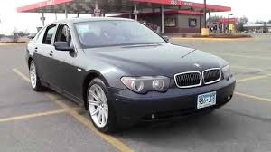 2002 bmw 7 series 745i 2u140090d youtube
