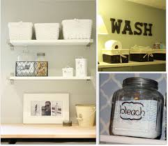 Laundry Room Decor by How To Organize Tiny Laundry Room Shelving Home Decorations
