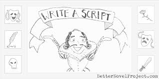 how to write a comedy script for a play