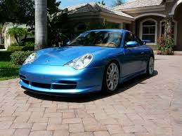 2004 porsche for sale a one of a 2004 porsche gt3 in minerva blue for sale