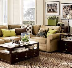 green and brown living room design home ideas pictures