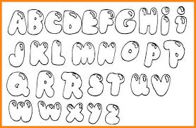 bubble letter fonts format