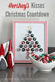 hershey s kisses countdown organize and decorate everything