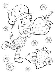strawberry shortcake 27 coloringcolor com