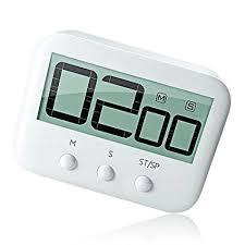 minuteur cuisine aimanté yeplife minuteur de cuisine numérique avec grand écran alarme forte