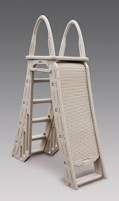 pool ladders a frame