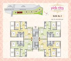 floor plan ami infra pink city at ambernath mumbai beyond thane