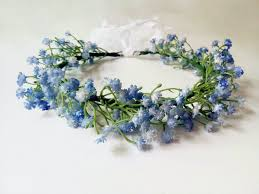 baby s breath flowers baby s breath halo artificial flowers headband crown