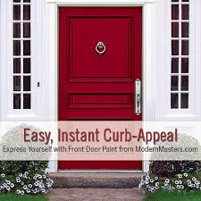 How To Refinish An Exterior Door The Easy Way by Front Door Paint Modern Masters Cafe Blog