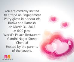 hindu engagement invitations 9 must indian engagement invitation wording ideas