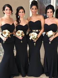black bridesmaid dresses black bridesmaid dresses black gowns