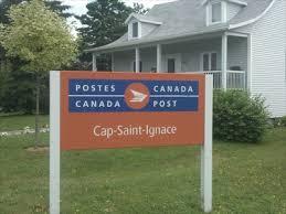 bureau de poste pr騅ost bureau de poste de cap ignace cap ignace post office