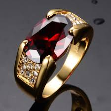 mens rings ruby images Noble red ruby engagement rings men39s women39s yellow gold mens jpg