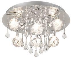 Esszimmer Deckenleuchten Led Deckenleuchte 6 Flammig Chrom M Glasbehang Lampen Online Poco