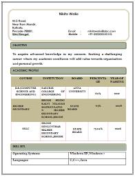 Free Download Of Resume Templates Resume Free Download Resume Template And Professional Resume