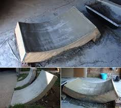 Backyard Skate Ramps by Matt In Ohio Sent These Pics Of Some Driveway Alterations He U0027s