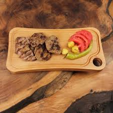 cutting board plates wood cutting board 34x18cm beech camporselenlogo