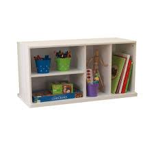 storage unit with shelves white