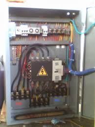 installation of electrical panels