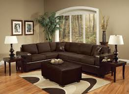chocolate brown sofa living room pertaining to chocolate living