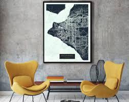 us map anchorage alaska alaska map etsy