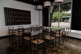 Next Bar Table Houston Bar Momo Food Wine Debuts Next Week In Midtown Houston