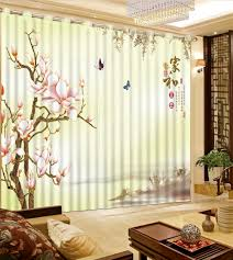 online get cheap retro print curtains aliexpress com alibaba group