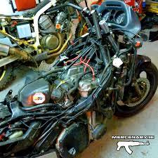 honda cbr 1000f mercenary garage cbr1000f handlebar conversion part 2