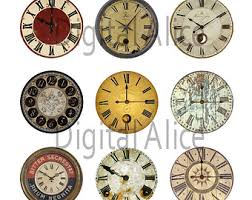 printable antique clock faces steunk clipart clock face pencil and in color steunk clipart