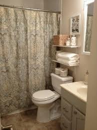 See Through Bathroom Diy Shelves For Bathroom Long Brown Window Curtain Exquisite