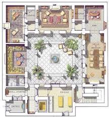 Moroccan Riad Floor Plan | resultado de imagen de moroccan riad floor plans a new home