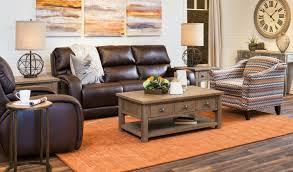 Wood And Leather Sofa Decorating With Brown Leather Furniture Tips For A Lighter