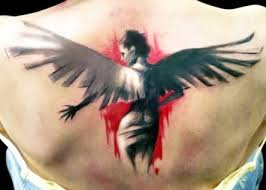 30 angel tattoos designs pretty designs