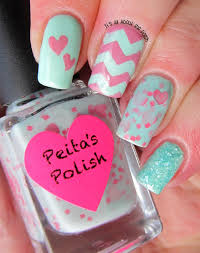 it u0027s all about the polish mint green and pink valentine u0027s day