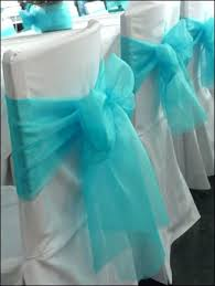 turquoise chair sashes turquoise sashes for chairs wedding chair decorations with