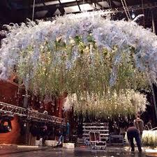 wedding flowers dubai hanging chandelier wedding weddingplanner dubai uae doha