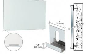 Bathroom Mirror Installation How To Install A Mirror With Mastic Or