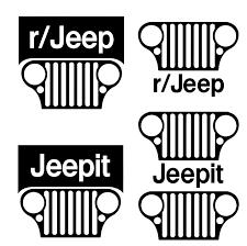 jeep cj grill logo jeepit reddit cj grill decal pack styfe life