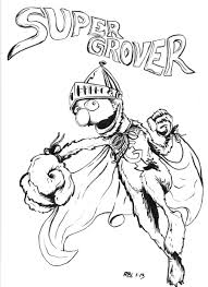 super grover by stockmanray on deviantart