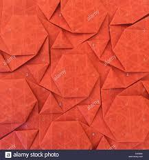 Origami Tessalation - origami tessellation shape stock photo royalty free