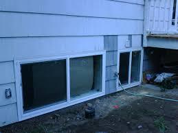 new basement egress windows with window wells gallery