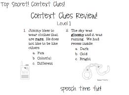 context clues worksheets 1st grade worksheets