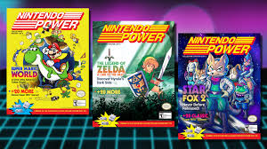 new nintendo power covers released to celebrate snes classic