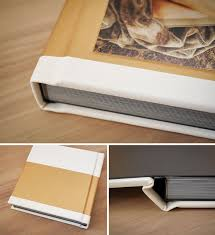 gold photo album luxe look white gold album forbeyon high quality handmade