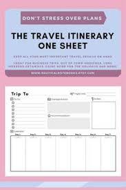 cele mai bune 25 de idei despre travel itinerary template pe