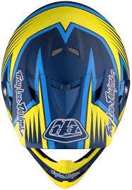 blue motocross helmets troy lee designs air vengeance yellow blue motocross helmets troy