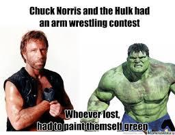 Memes De Hulk - chuck norris vs the hulk by 7venom meme center
